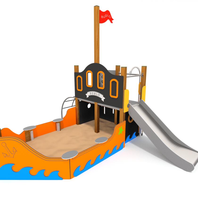 Art. W8001 sandkassebåt