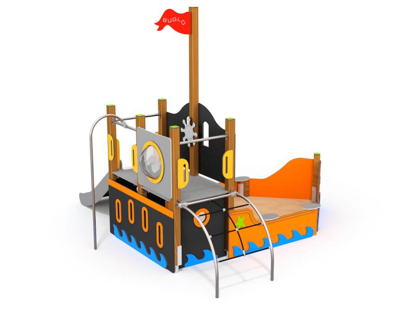 Art. W8001 sandkassebåt 2