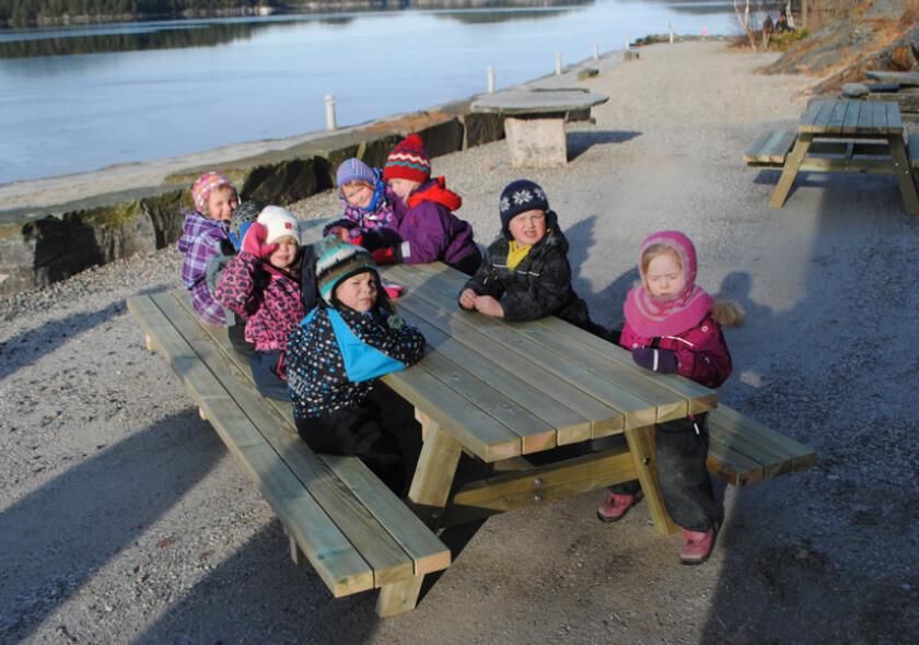 Sittegruppe for barn