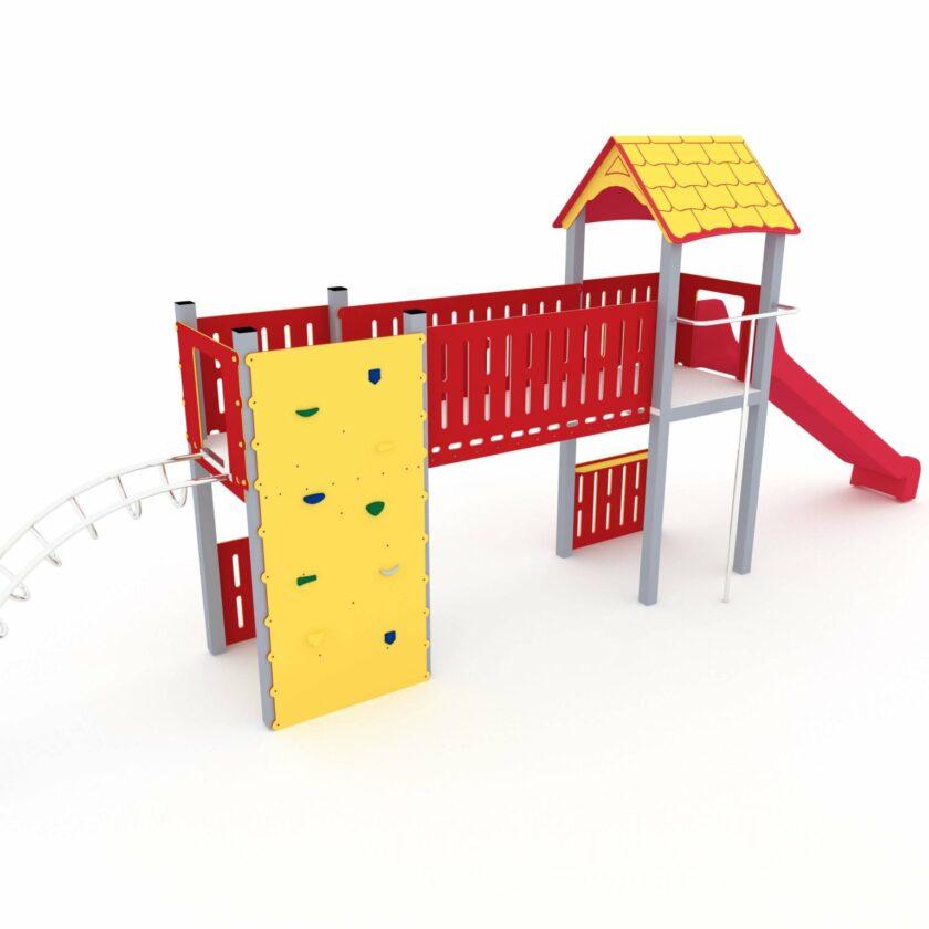 Kombinasjonsapparat for lekeplass