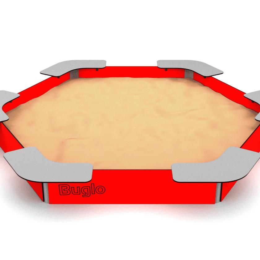 Sandkasse for lekeplasser