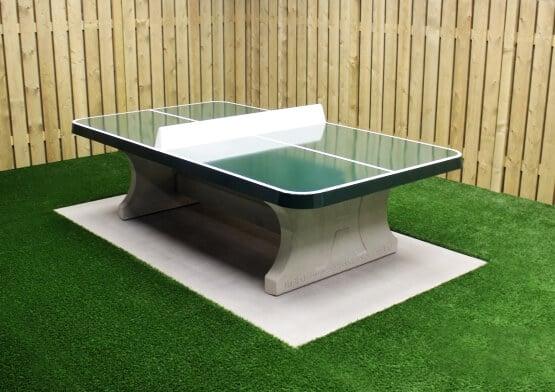 Bordtennisbord betong grønn